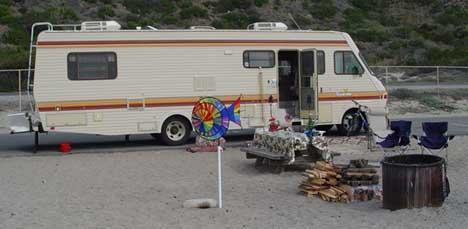 Bounder Campsite